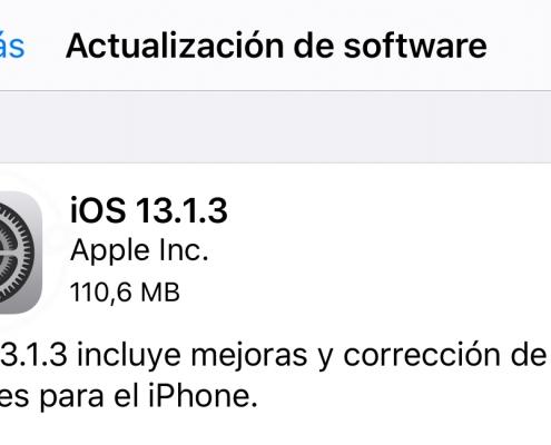 iOS 13.1.3