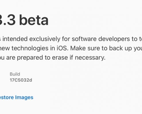 iOS 13.3 beta, iPadOS 13.3 beta, watchOS 6.1.1 beta y tvOS 13.3 beta