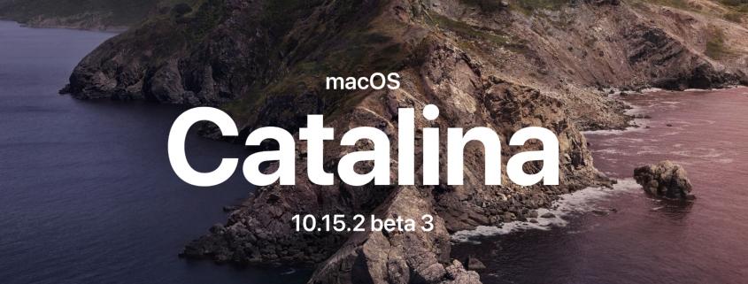 macOS Catalina 10.15.2 beta 3