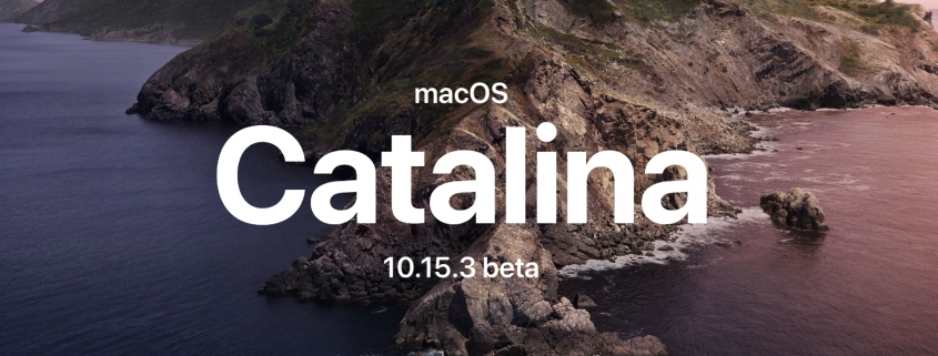 macOS Catalina 10.15.3 beta