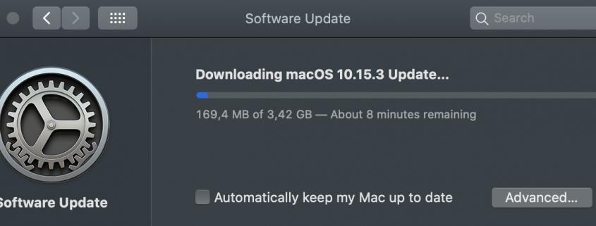 macOS Catalina 10.15.3