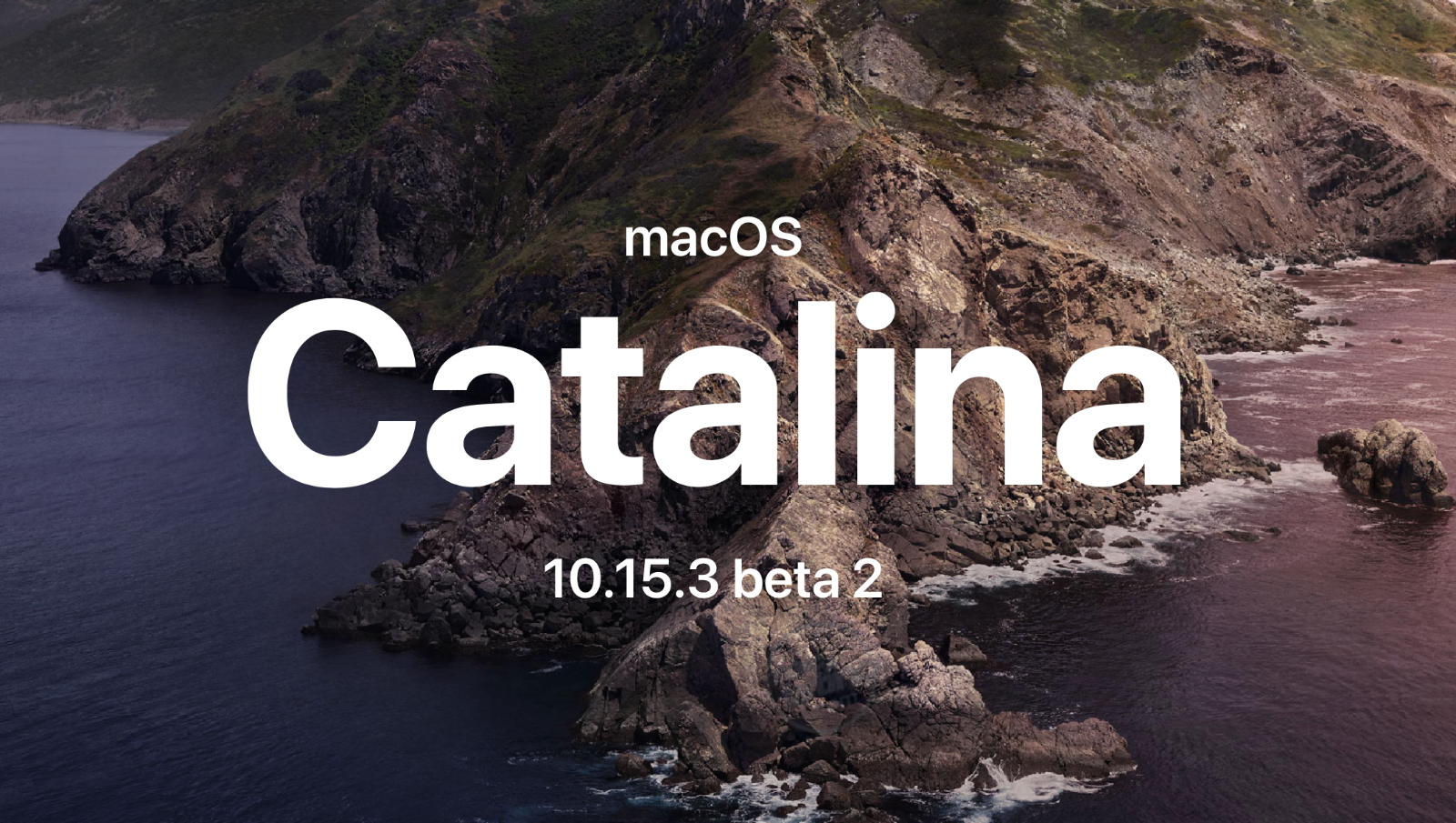 macOS Catalina 10.15.3 beta 2