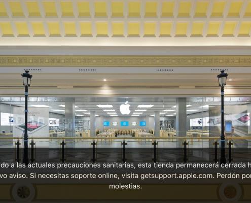Apple cierra todas las Apple Store en España
