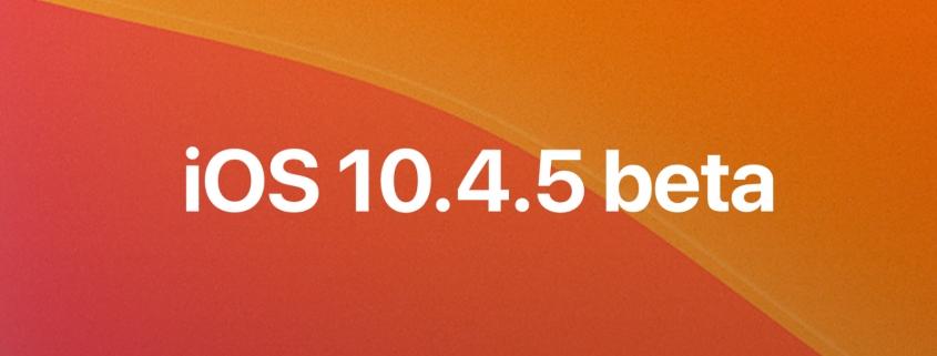 iOS 13.4.5 beta, iPadOS 13.4.5 beta y tvOS 13.4.5 beta