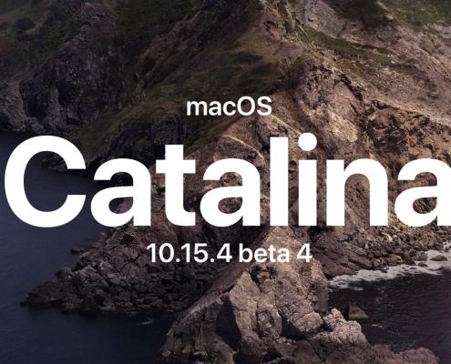 macOS Catalina 10.15.4 beta 4