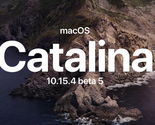 macOS Catalina 10.15.4 beta 5