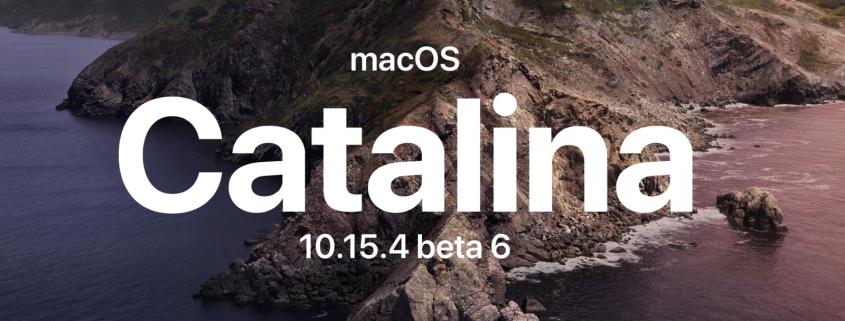 macOS Catalina 10.15.4 beta 6