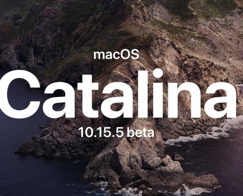 macOS Catalina 10.15.5 beta