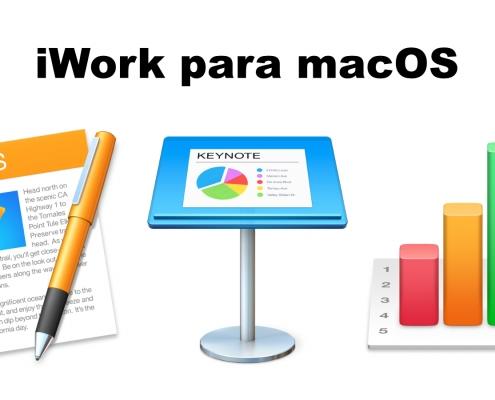 iWork para macOS