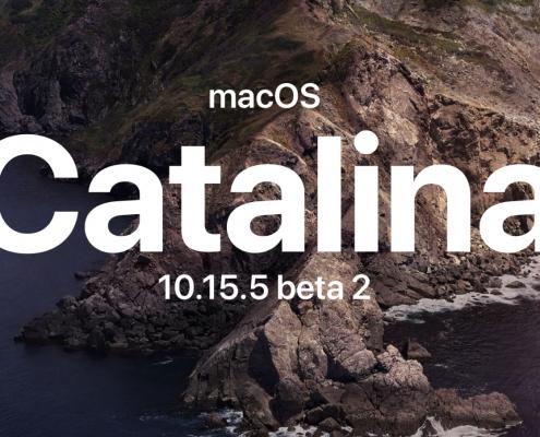 macOS Catalina 10.15.5 beta 2