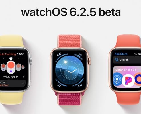 watchOS 6.2.5 beta